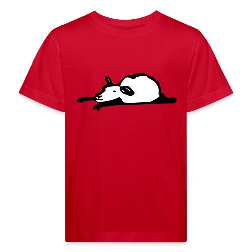 Schlafendes Schaf - Kinder Bio-T-Shirt