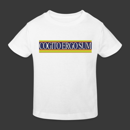 ces weiss - Kinderen Bio-T-shirt