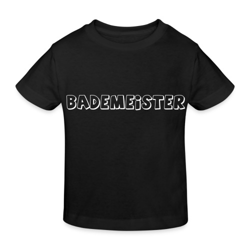 Bademeister Schwimmbad - Kinder Bio-T-Shirt