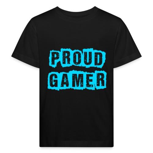 Proud Gamer - Kinder Bio-T-Shirt
