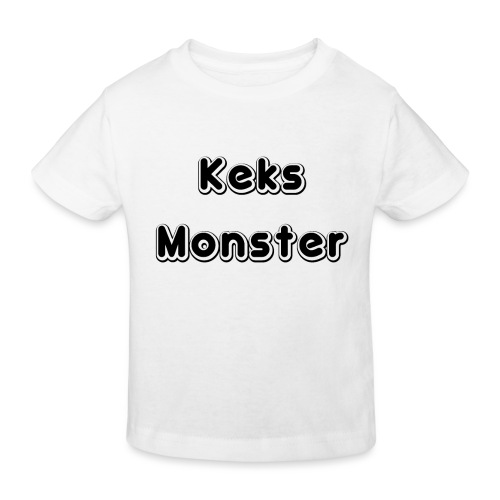 Keks Monster - Kinder Bio-T-Shirt