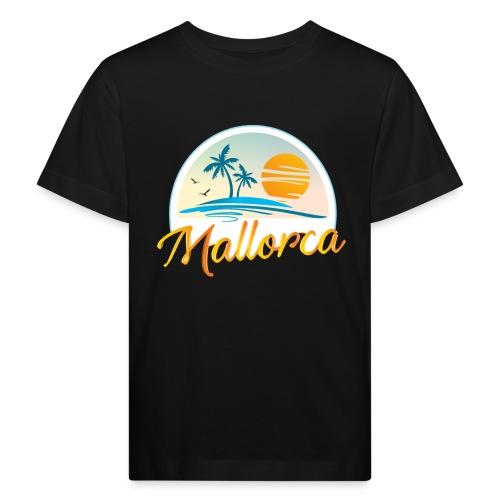 Mallorca - die goldene Insel der Lebensqualität - Kinder Bio-T-Shirt