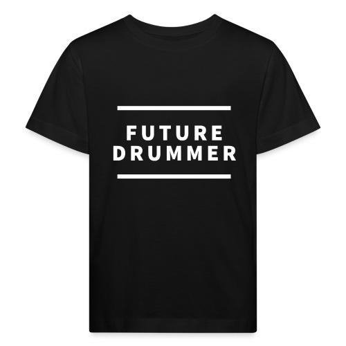 Drummer Schlagzeug Geschenk - Kinder Bio-T-Shirt