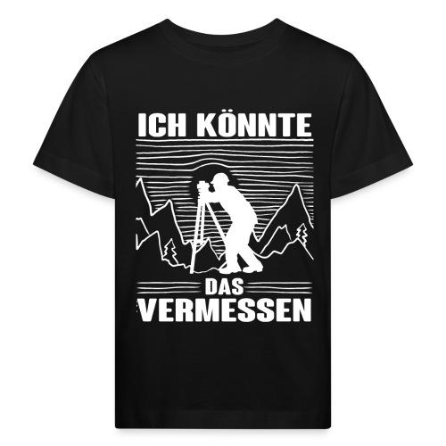 Vermessungstechniker Lustig Geomatiker Theodoloit - Kinder Bio-T-Shirt