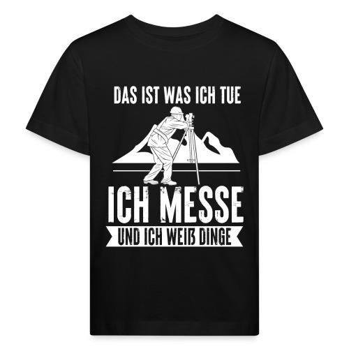 Geomatiker Vermesser Geodäsie Vermessungstechniker - Kinder Bio-T-Shirt