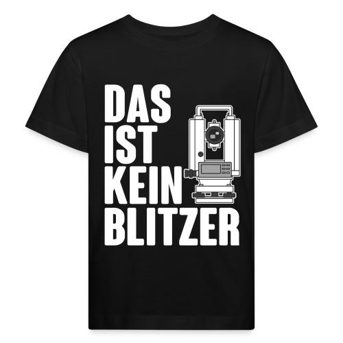 Vermessungstechniker Theodoloit Blitzer Geomatiker - Kinder Bio-T-Shirt
