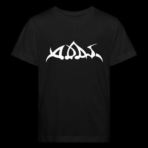 adas logo white - Kinder Bio-T-Shirt