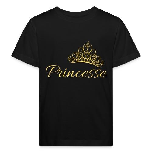 Princesse Or - by T-shirt chic et choc - T-shirt bio Enfant