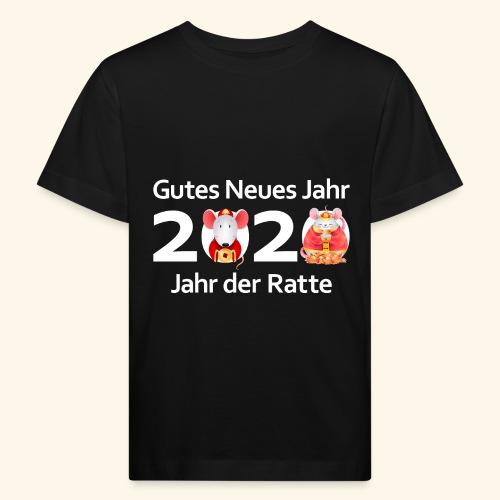 Gutes Neues Jahr 2020 China Horoskop Sternzeichen - Kinder Bio-T-Shirt
