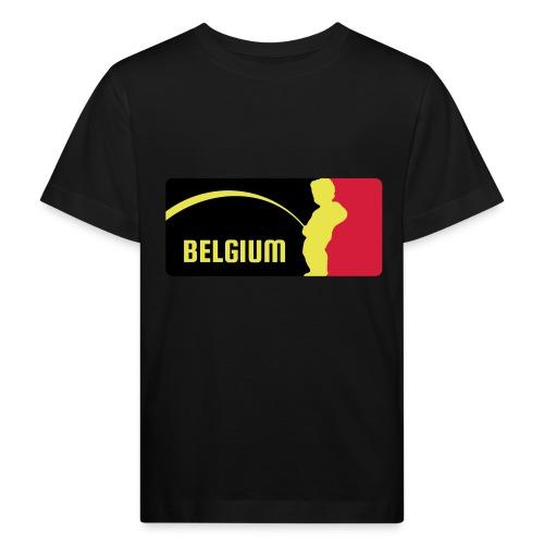 Mannekke Pis, Belgium Rode duivels - Belgium - Bel - T-shirt bio Enfant