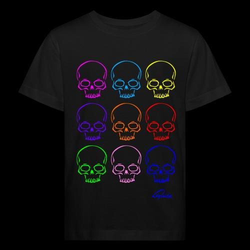 totenkopf kids v1 - Kinder Bio-T-Shirt