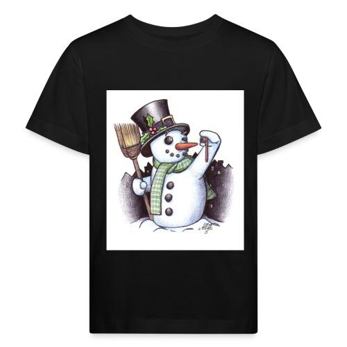 bonhomme de neige - T-shirt bio Enfant