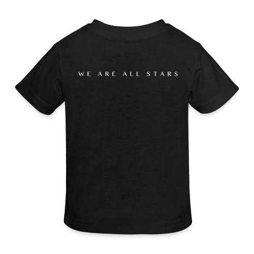 Galaxy Music Lab - We are all stars - Organic børne shirt