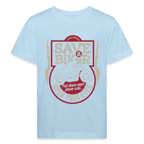 Save A Biker - Kids' Organic T-Shirt
