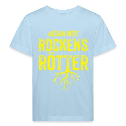 Fotbollströja svart. Resan mot rockens rötter. - Ekologisk T-shirt barn