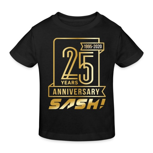 SASH! 25 Years Annyversary - Kids' Organic T-Shirt