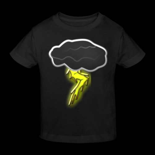 Blitzschlag - Kinder Bio-T-Shirt