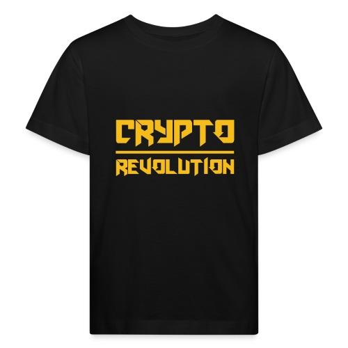 Crypto Revolution III - Kids' Organic T-Shirt