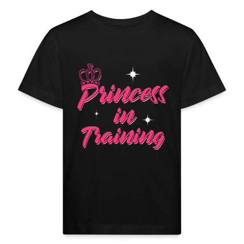 Princess In Training - Kinder Bio-T-Shirt