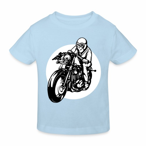 Motorradfahrer - Kids' Organic T-Shirt