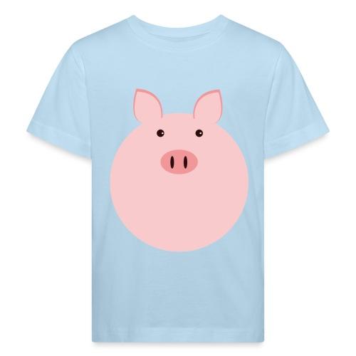 Schweinchen Fred - Kinder Bio-T-Shirt