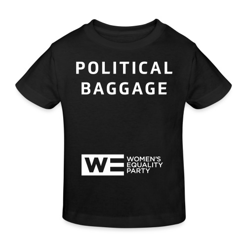 Political Baggage - Kids' Organic T-Shirt