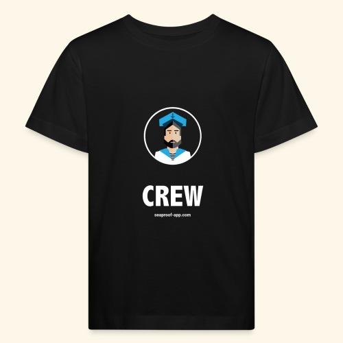 SeaProof Crew - Kinder Bio-T-Shirt