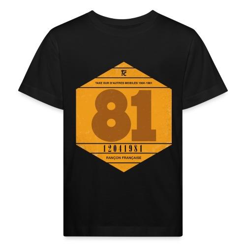 Vignette automobile 1981 - T-shirt bio Enfant