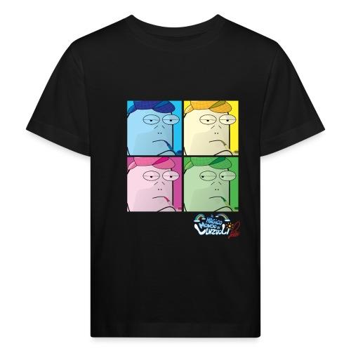 Commissario Warhol - Maglietta ecologica per bambini