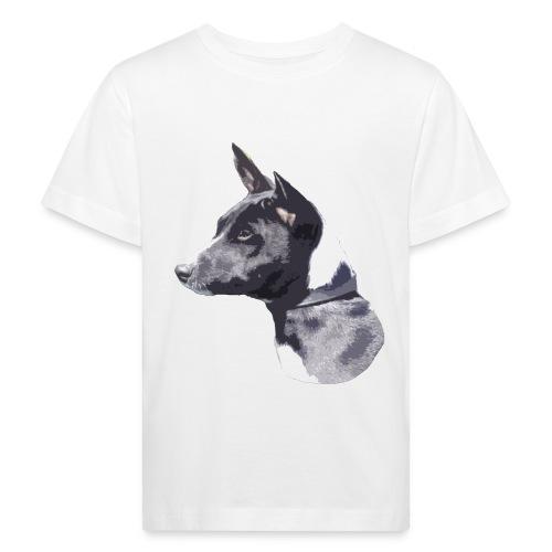 basenji black - Organic børne shirt