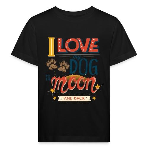 Moon Dog Light - Ekologisk T-shirt barn