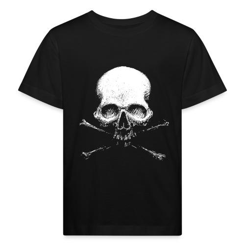 Old Skull - Maglietta ecologica per bambini