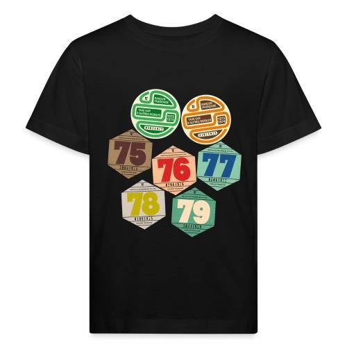 Vignettes automobiles années 70 - T-shirt bio Enfant