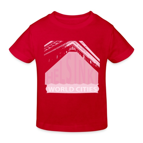 Helsinki light pink - Kids' Organic T-Shirt