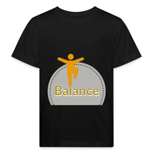 Balance berge yellow - Kids' Organic T-Shirt