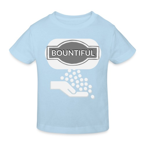 Bontiul gray white - Kids' Organic T-Shirt