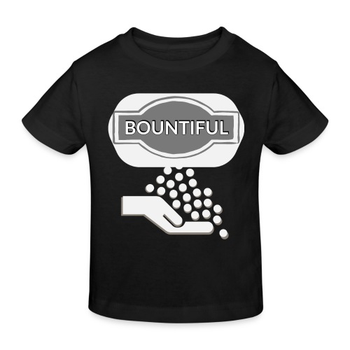 Bontiul gray white - Kids' Organic T-Shirt