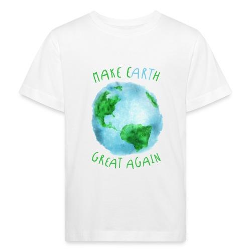 EARTH - Camiseta ecológica niño