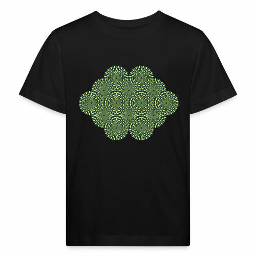 optischetaeuschung 02b - Kinder Bio-T-Shirt