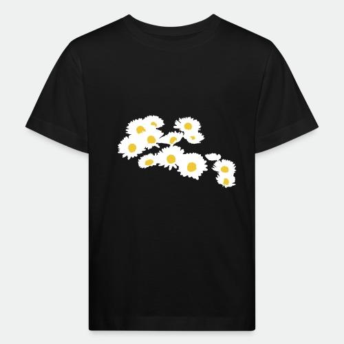 Spring Season Daisies - Kids' Organic T-Shirt