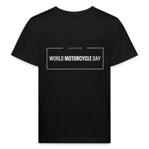Official World Motorcycle Day 2016 Coffee Mug BLK - Kids' Organic T-Shirt