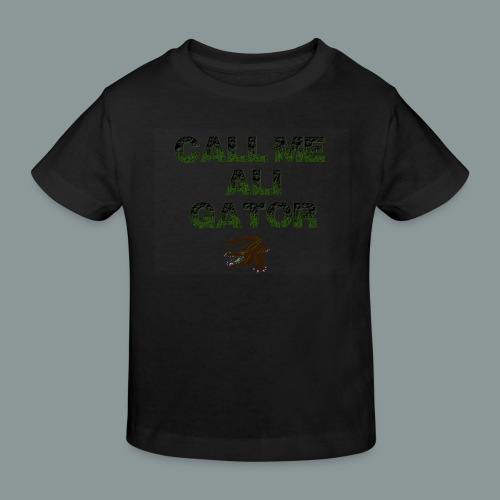 aligator2 - Kinder Bio-T-Shirt