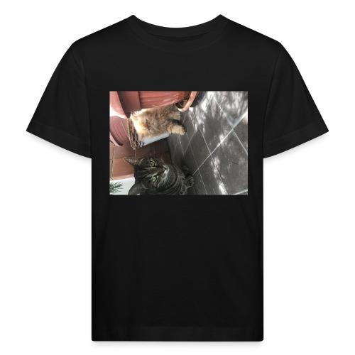 I gatti - Maglietta ecologica per bambini