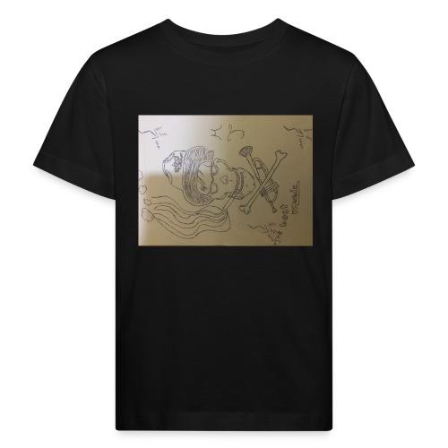 Miggy Trumpet new logo - Kinder Bio-T-Shirt