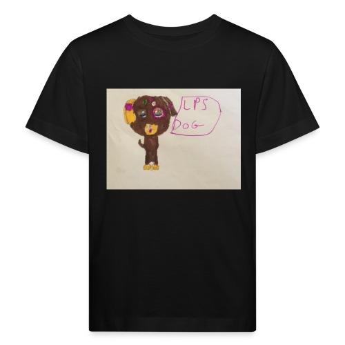 Little pets shop dog - Kids' Organic T-Shirt