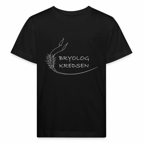 Bryologkredsen - hvidt logo - Organic børne shirt
