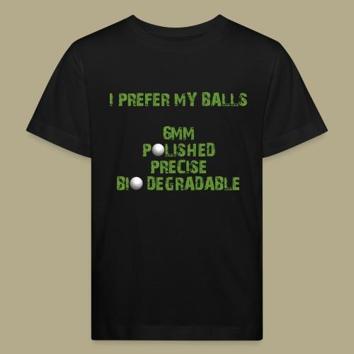 BALLS - Kinderen Bio-T-shirt