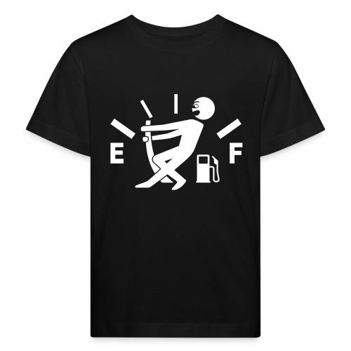Empty tank - no fuel - fuel gauge - Kids' Organic T-Shirt