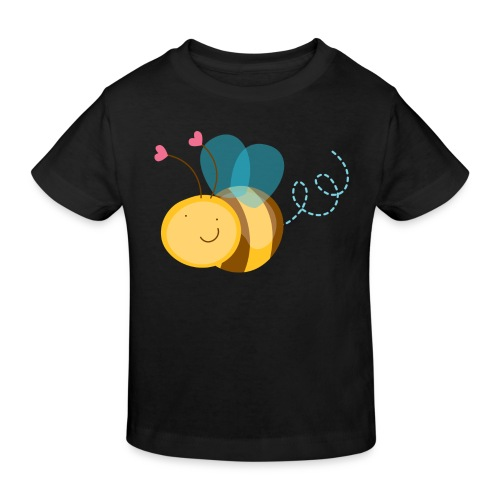 Cute Bee - Camiseta ecológica niño