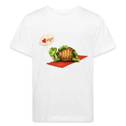 Love-Yoga Turtle - Kinder Bio-T-Shirt